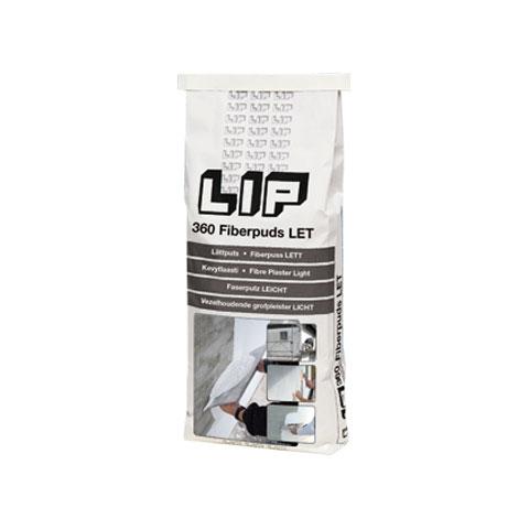 LIP 360 Vezelhoudende Grofpleister Light - 000-713
